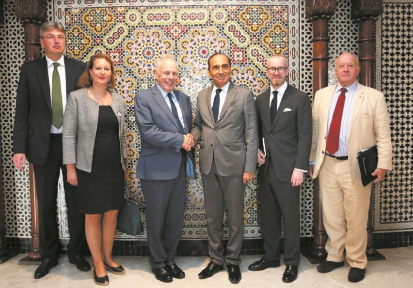 Entretiens maroco-britanniques à la Chambre des représentants