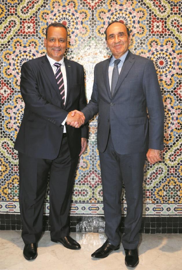 Les relations maroco-mauritaniennes au centre d'une rencontre entre Habib El Malki et Ismail Ould Cheikh Ahmed
