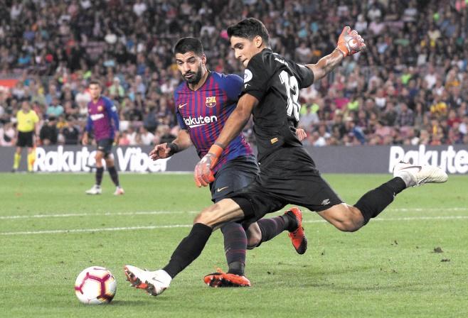 Liga : Le Barça rame à dix dans le derby contre Gérone