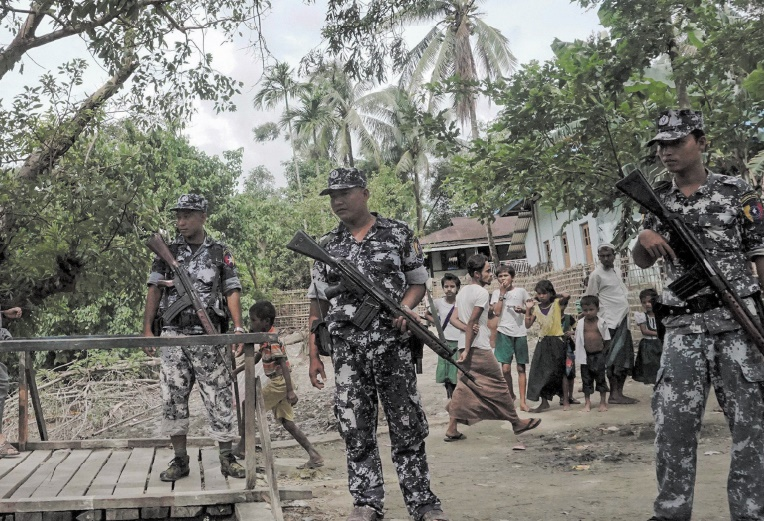 L'armée birmane hausse le ton contre l'ONU