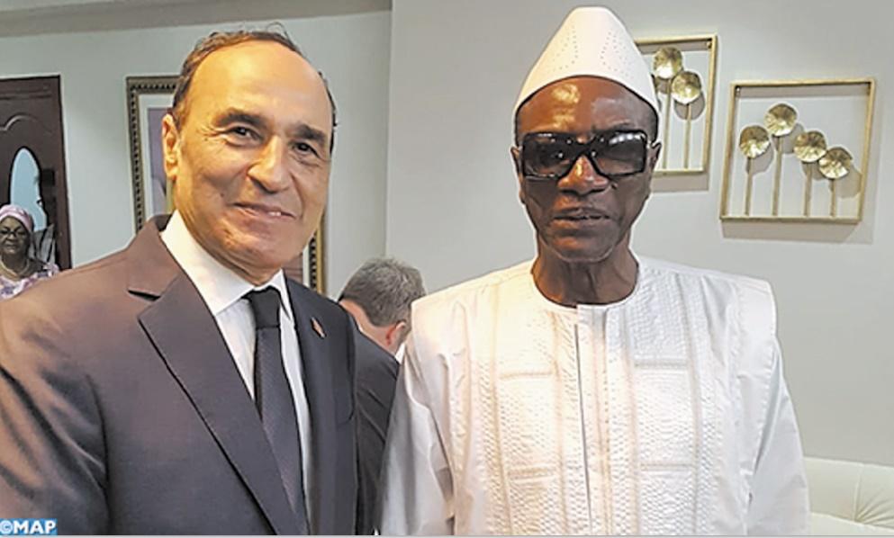 Le Président guinéen reçoit Habib El Malki