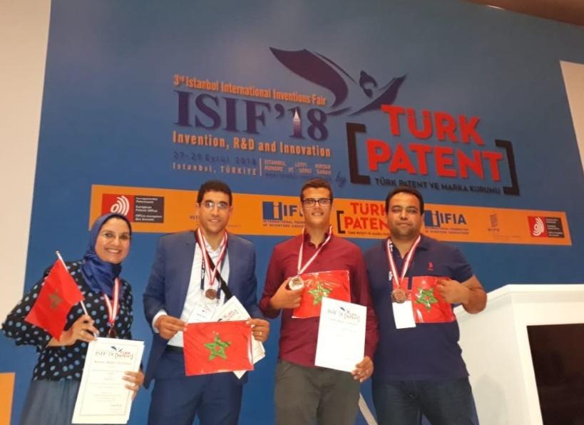Une nouvelle distinction de l'EMSI au Salon international des inventions