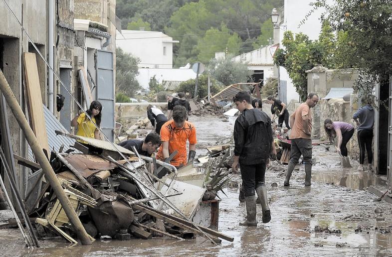 Une dizaine de morts dans des inondations à Majorque