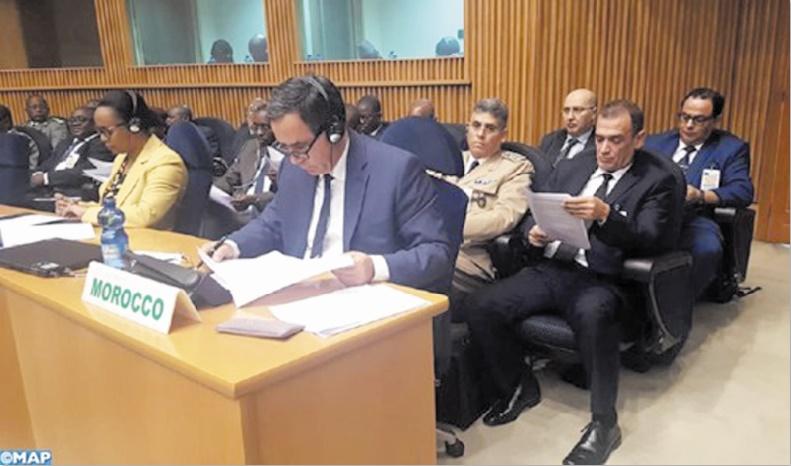 Le Maroc appelle à la consolidation de l'architecture de paix et de sécurité africaine