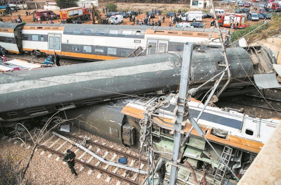 Accident ferroviaire mortel  : Sept morts et plus de 80 blessés, selon un premier bilan provisoire