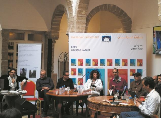 "Loubaba Laalej expose ses ""Emergences fantastiques"" à Essaouira"