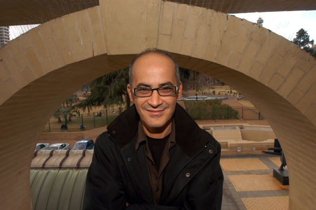Mohamed El Baz investit  les espaces de la Fondation Farid Belkahia