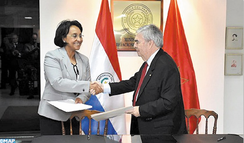 Mounia Boucetta et Hugo Saguier Caballero.