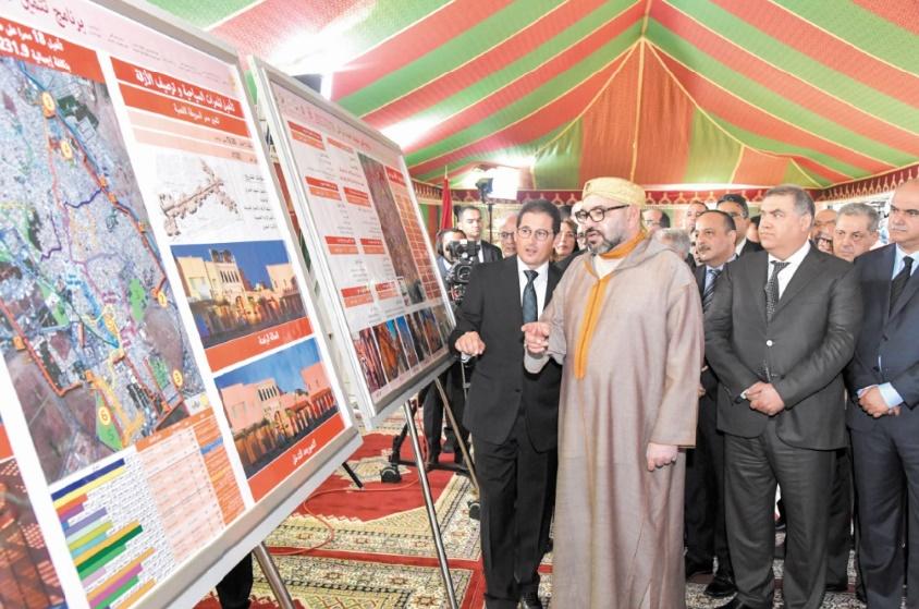 Forte impulsion Royale à la préservation des anciennes médinas de Marrakech, Essaouira, Salé, Meknès et Tétouan