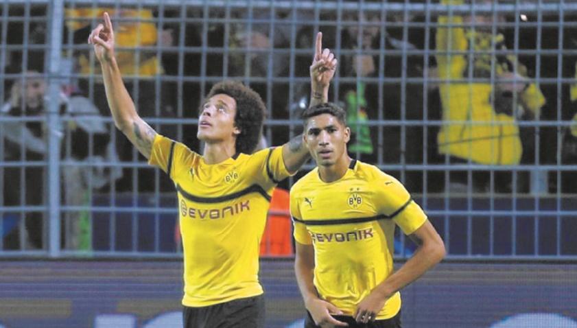 Auteur de trois passes décisives, Achraf Hakimi confirme au fil des matches avec Dortmund.