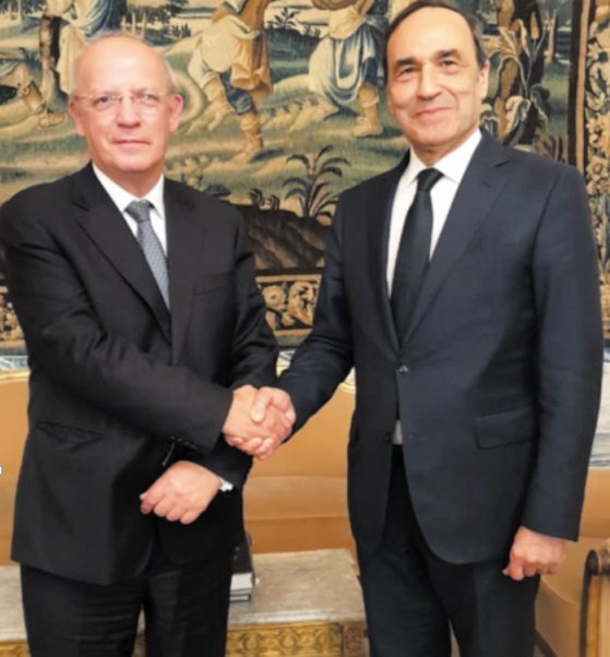 Le président de la Chambre des représentants reçu par le ministre portugais des Affaires étrangères