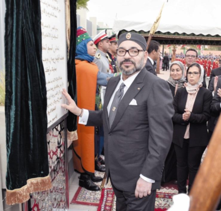 S.M le Roi inaugure deux importants projets à forte valeur sociale