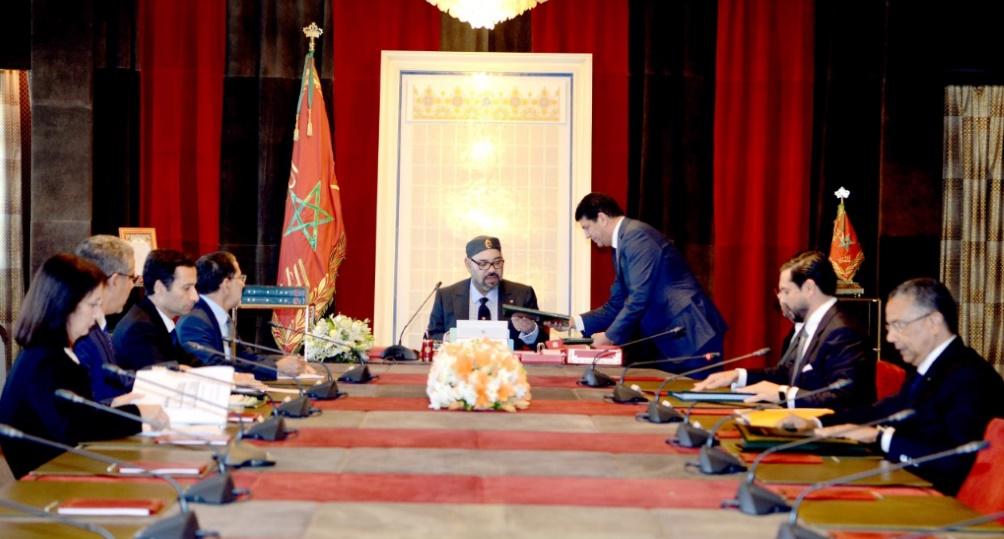 S.M le Roi préside une séance de travail consacrée aux énergies renouvelables