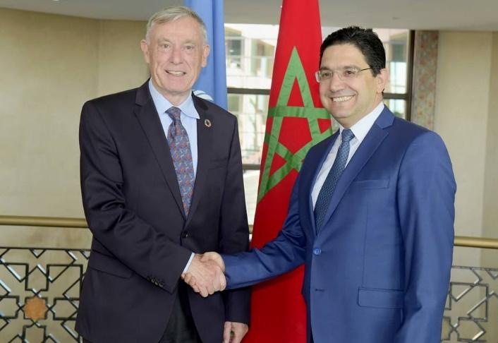 Nasser Bourita : Le Maroc réaffirme l'importance des consultations avec Horst Kohler en vue d'une bonne préparation de la table ronde de Genève