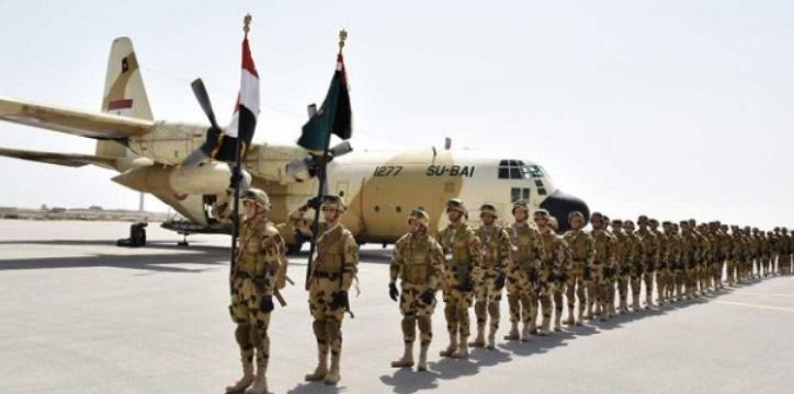 """Début de l'exercice militaire conjoint """"Bouclier arabe 1"""""""