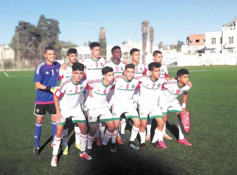 Tournoi UNAF : Les U15 surclassent le Onze algérien