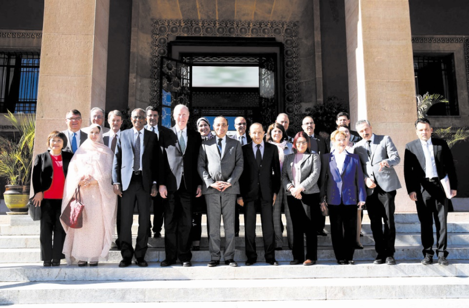 Lancement de la section marocaine de l'Association internationale des parlementaires pour la paix