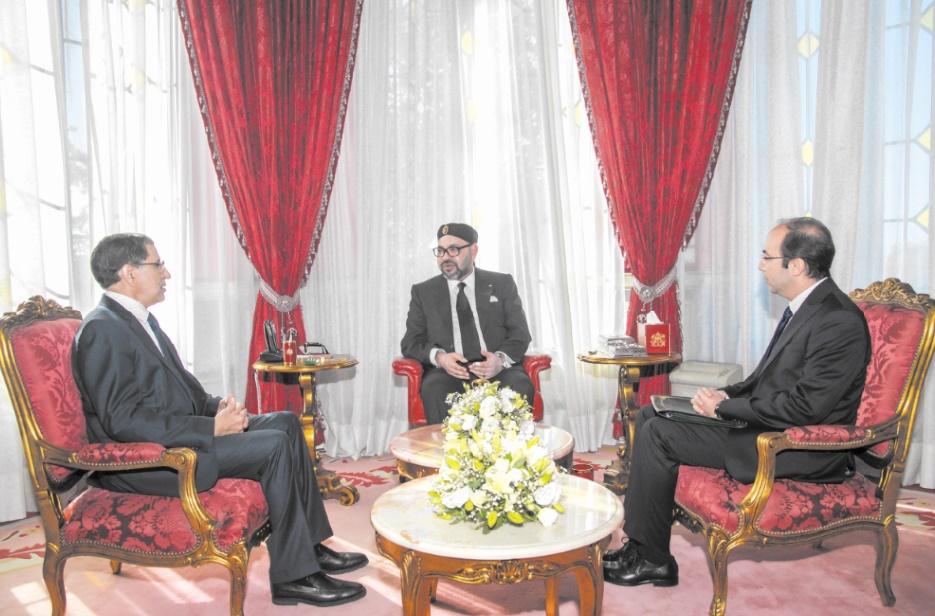 S.M le Roi reçoit Saad Dine El Otmani et Anas Doukkali Hautes instructions Royales pour la refonte du système national de santé