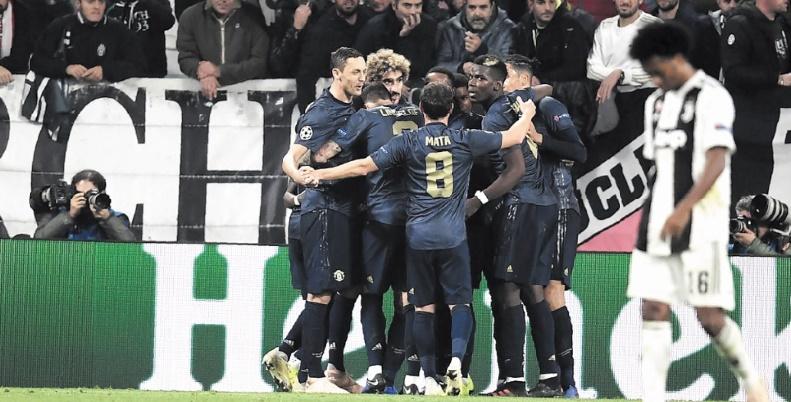 ManU s'offre la Juve en Ligue des champions