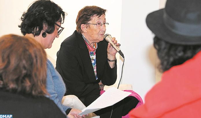 """Zakya Daoud présente à Rabat son dernier roman """"Les Aït Chéris"""""""