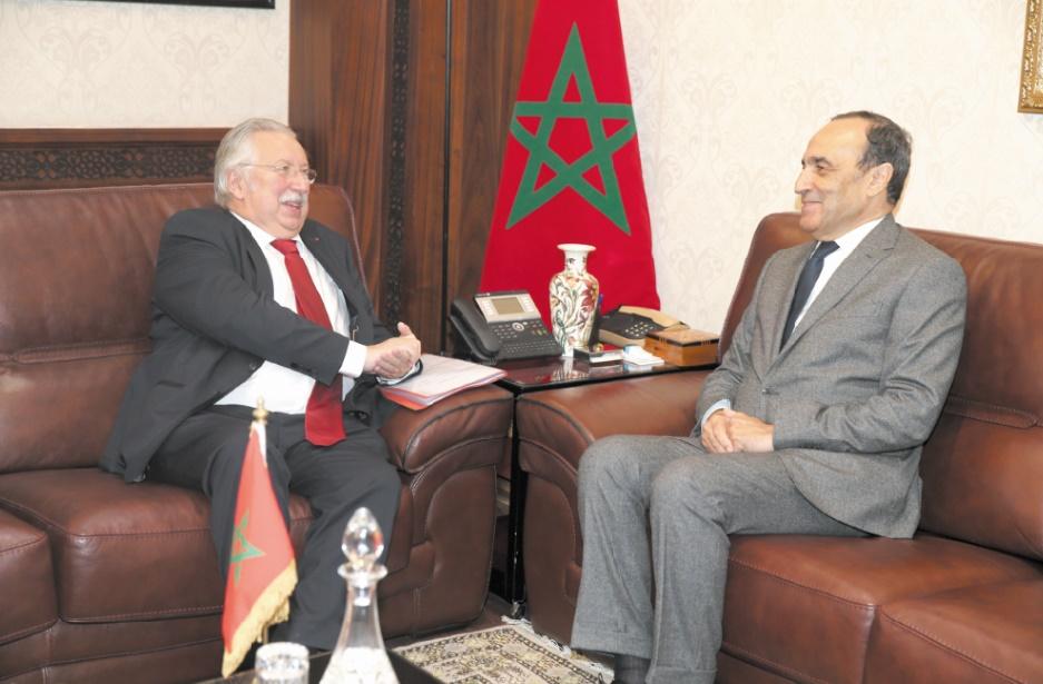 Examen des moyens de promouvoir la coopération maroco-belge