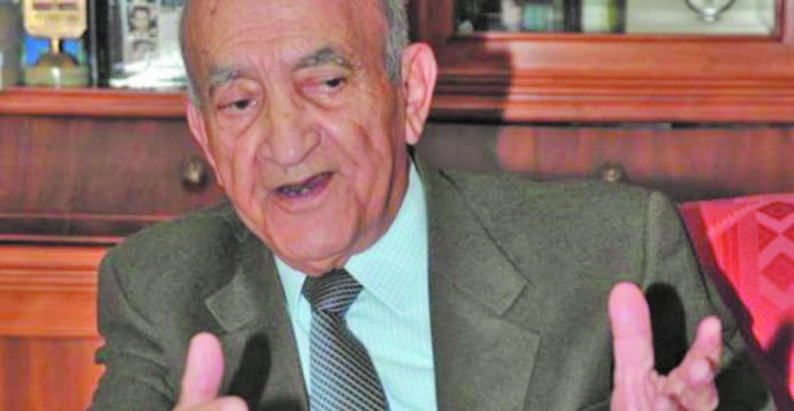 Abderrahmane El Youssoufi : La main tendue de S.M le Roi, une initiative sincère pour une  victoire collective des Algériens et des Marocains