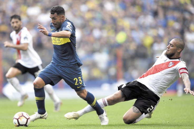 Copa Libertadores : Boca résiste à River dans une Bombonera en fusion