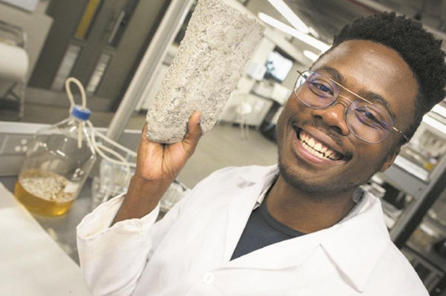 En Afrique du Sud, de l'urine peut faire des briques