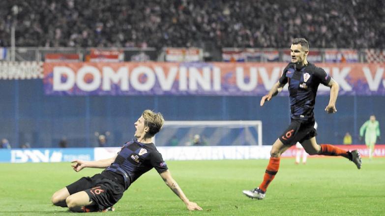 Les Croates assomment l'Espagne et peuvent rêver