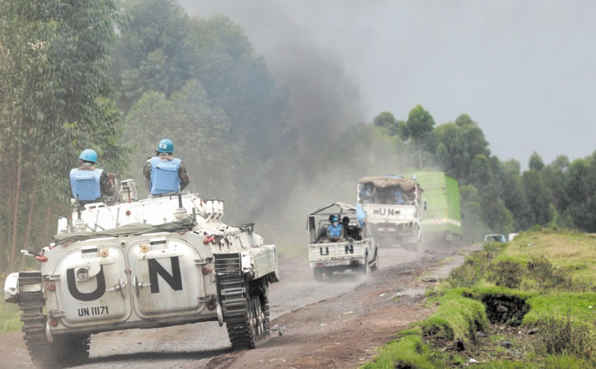 Sept Casques bleus tués dans l'offensive contre les rebelles ADF en RDC