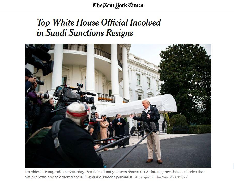 Les USA détermineront dans les prochains jours qui a tué Khashoggi