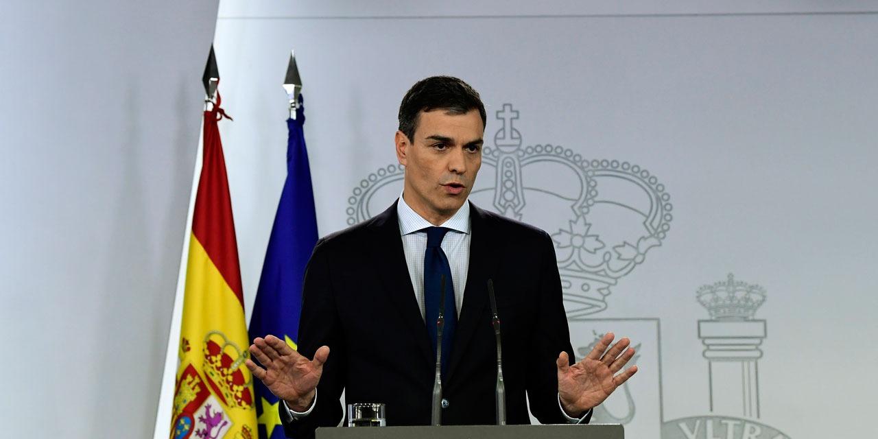 Pedro Sanchez en visite officielle au Maroc