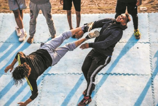 Des catcheurs égyptiens rêvent de shows à l'américaine