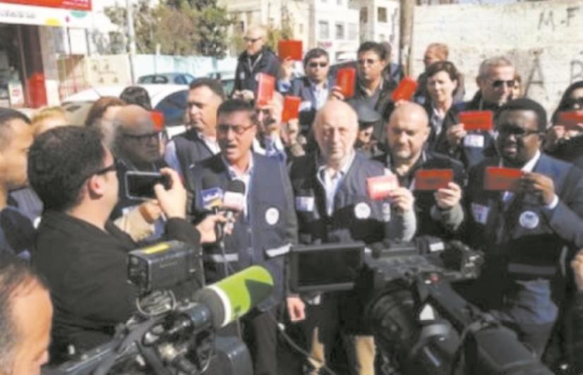 Israël agresse une délégation de la FIJ