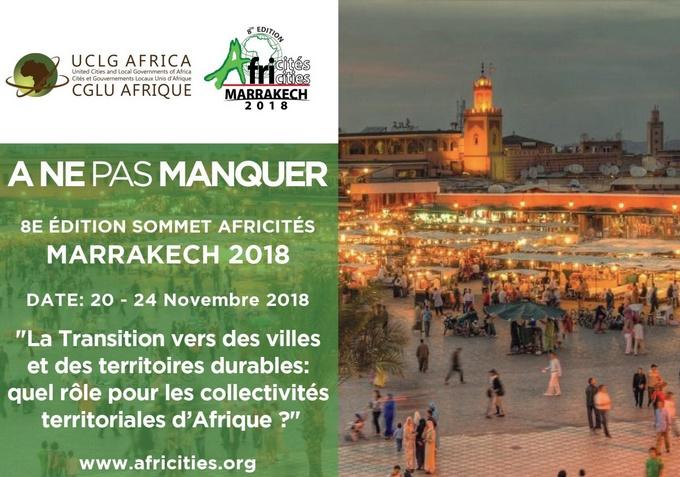 Tenue à Marrakech du Sommet Africités