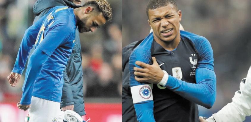 Mbappé et Neymar blessés : Le PSG retient son souffle avant Liverpool