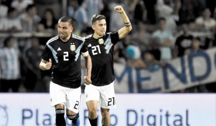 L'Argentine bat le Mexique