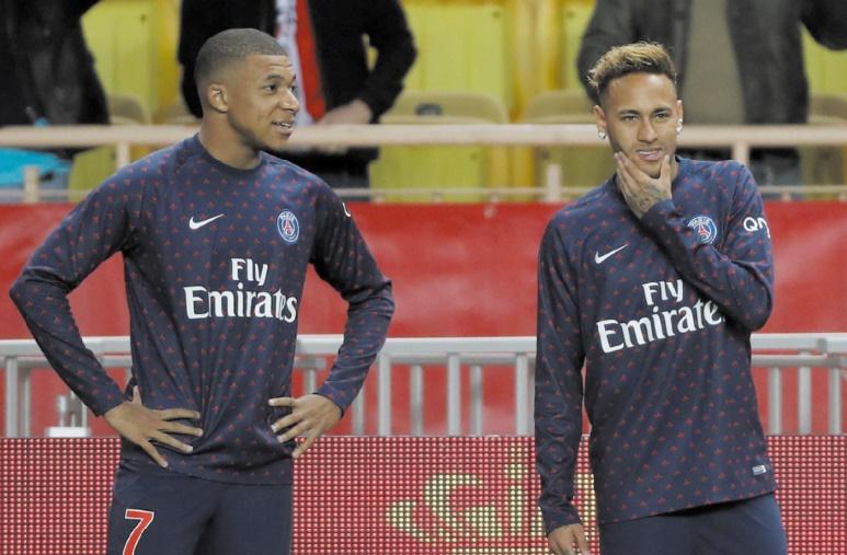 """Paris SG: """"élongation"""" pour Neymar, """"contusion"""" pour Mbappé"""