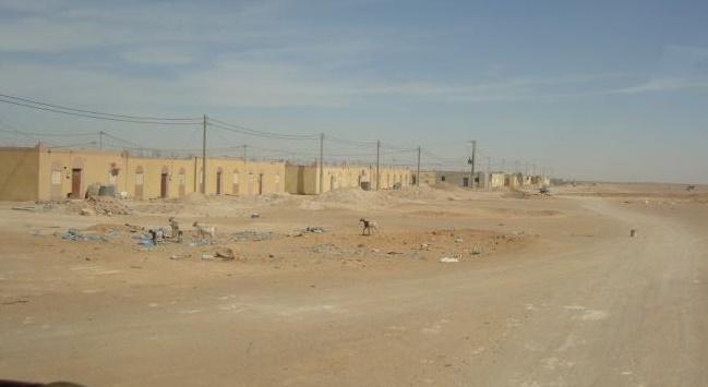 Explosion d'un missile algérien près du camp Rabouni