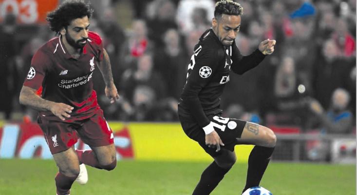 PSG-Liverpool Un trident rouge vif face à l'incertitude Neymar