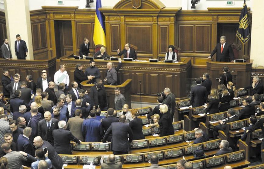 L'Ukraine proclame la loi martiale après l'incident de Kertch