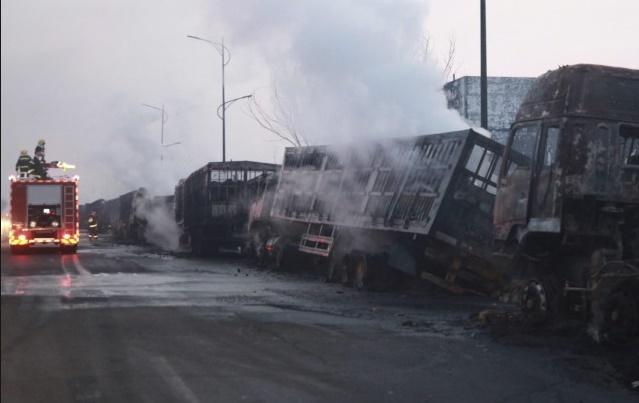 22 morts dans une explosion chimique en Chine