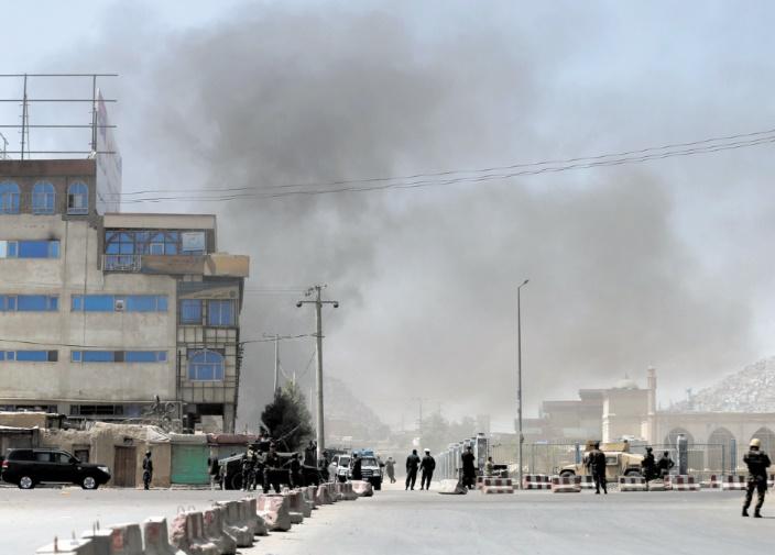 Une dizaine de morts dans une attaque des talibans à Kaboul