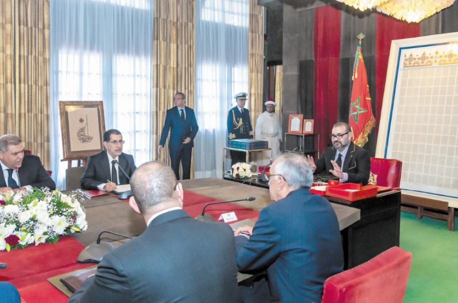 S.M le Roi demande au gouvernement de redoubler d'efforts et d'assumer ses responsabilités