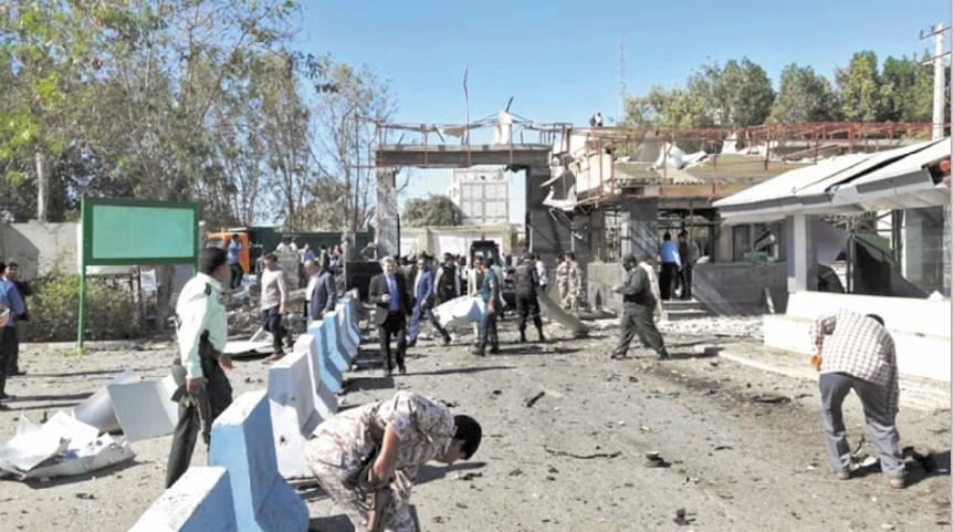 Un attentat-suicide contre la police dans le sud-est de l'Iran