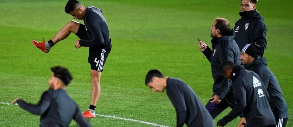 River et Boca à pied d'œuvre avant la finale de la Copa Libertadores