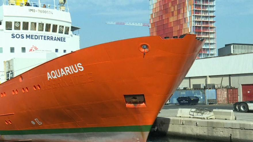 Aquarius ne sauvera plus  personne dans la Méditerranée