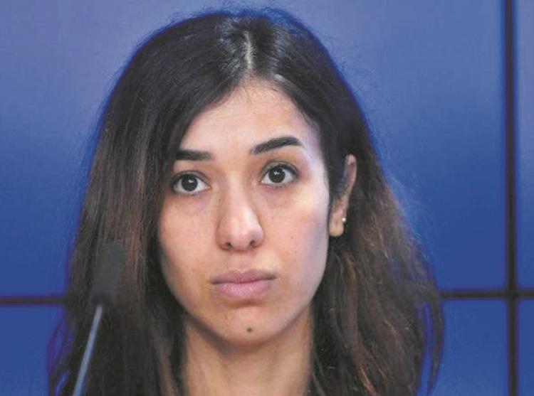 L'Irakienne Nadia Murad : De l'esclavage sexuel au Nobel de la paix