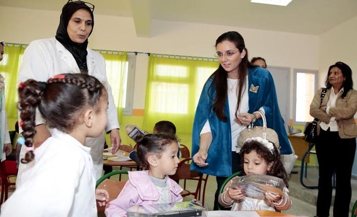 Lancement à Kénitra d'un modèle de classes d'enseignement préscolaire