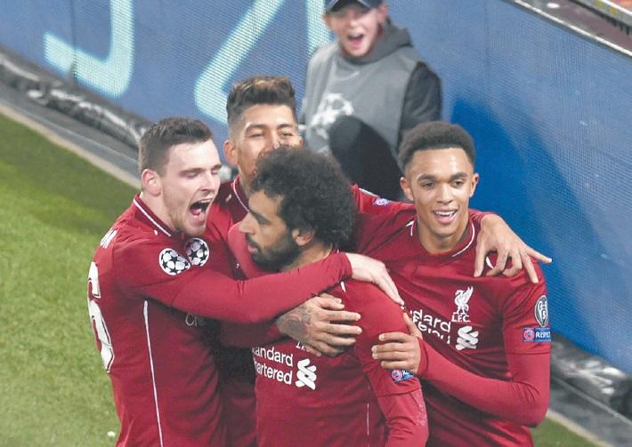 Ligue des champions : Liverpool grâce à Salah